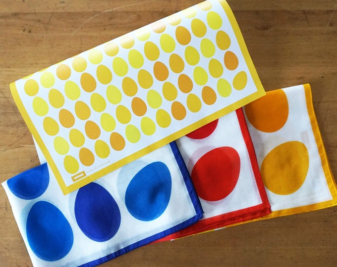 """EASTER EGGS wrapping paper or poster, Easter gift present paper, sheet 42x59cm 16,5x23,4"""", Size A2"""