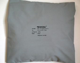HANDPRINTED PILLOW CASES  cushion cover, G.D.R., Karl Marx City, Cotton, Malimo