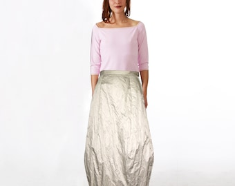BOULE SKIRT PUFFBALL Skirt, Bubble, Boulé skirt, in different colors, long