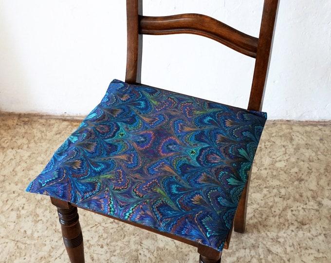 ART DECO Pillow Cases, Organic Cotton, Pillow Cover, Vintage, Cotton, Art Nouveau, digital print, 1920 - 1940, marbling, brown,