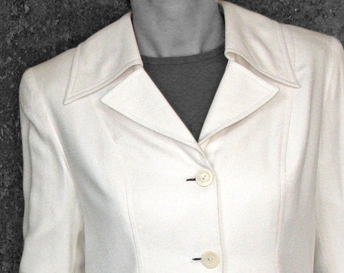 SALE! Woman SILK COAT  Silk blazer, bride, wedding, structure, long jacket