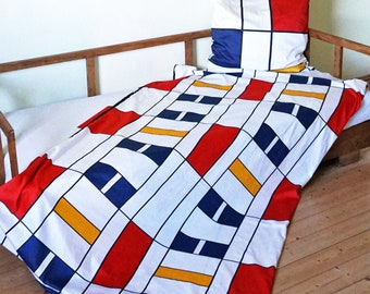 BAUHAUS PILLOW CASE cushion cover, 100 years Bauhaus, De Stijl, Constructivism, Concrete Art, Digital Print