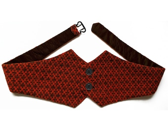 CUMMERBUND in different Colors, Knitting, 19th century, Unisex