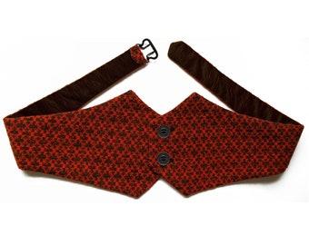 CUMMERBUND in different Colors, Knitting, 19th century, Unisex