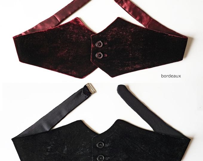 CUMMERBUND in different fabrics and colors, velvet, silk velvet,  belt, classic, frock, tuxedo, groom, 18th century, 19th century