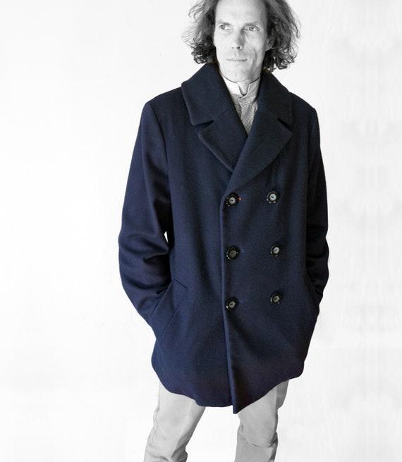 US $249.0 |Formati personalizzati di Lusso in Stile Britannico 80% Cachemire Cappotto Maschile Inverno Trench Mens Cappotto Lungo Cappotto di Lana