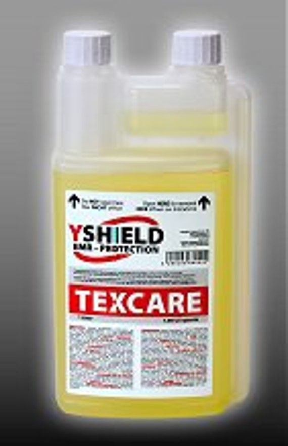 TexCare Liquid 1Lt  20 Loads - Laundry Detergent For EMF Shielding Textiles  With Silver Or Stainless Steel Threads