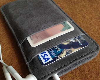 Leather iPhone Wallet - iPhone 5