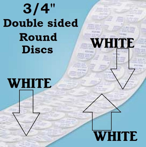 """3//4/"""" Double sided Adhesive Tape Round Jewelry 19mm Size Electronics Round Tape"""