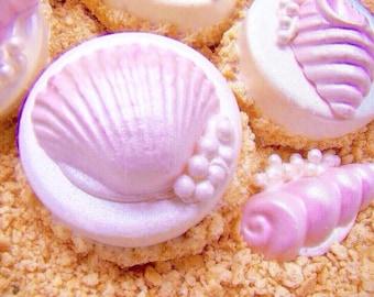 "Chocolate Covered Oreo Cookies Seashells On A ""Sandy"" Beach Wedding Favors Candy Hawaiian Luau Party Favors  Girl Baby Shower Chocolate Oreo"