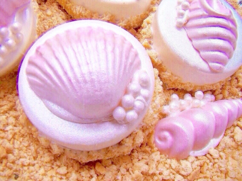 Chocolate Covered Oreo Cookies Seashells On A image 0