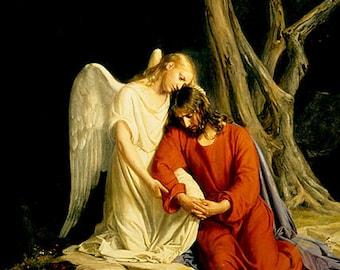 Passion  of Christ pendant - Christ at Gethsemane