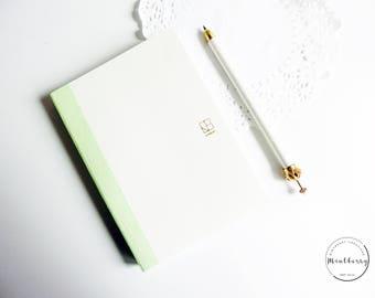 Minimalist Journal Dot Grid Blank 3 in 1 Bullet Journal A6