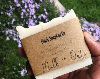 Milk + Oats Cleansing Soap