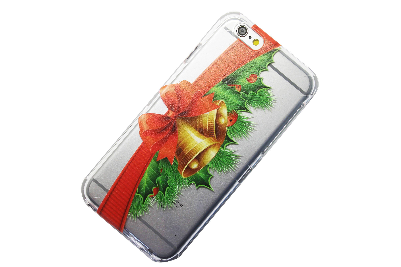 Christmas Garland, Gold Bells, Ribbon Phone Case iPhone 6, 7, SE, 6 ...