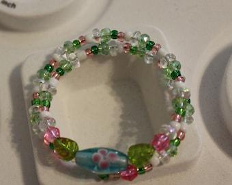 Sweet 16 & Quinceanera beaded bracelet