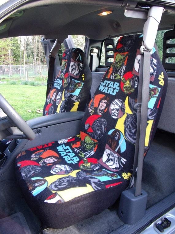 Star Wars Cartoon Characters Print, Star Wars Car Seat