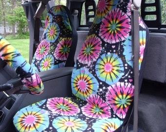 Tie dye wheel cover | Etsy