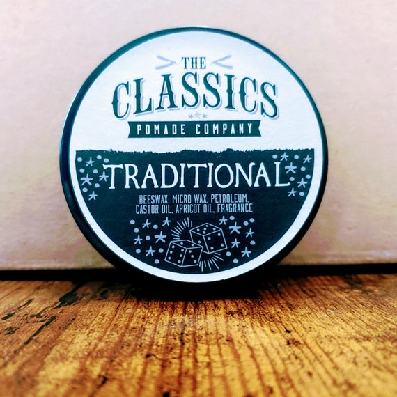 The Classics Pomade Co  Traditional Pomade