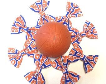 Cleveland Cavaliers Cavs Handmade Fabric Hair Clip or Headband Bows
