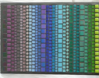 SPECTRUM - Mosaic Wall Art / 50 Shades of Colour- All the Colours of the Rainbow