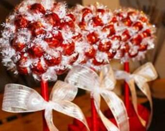 Lindor Milk Chocolate Truffle Candy Ball Treats (Set of 3)