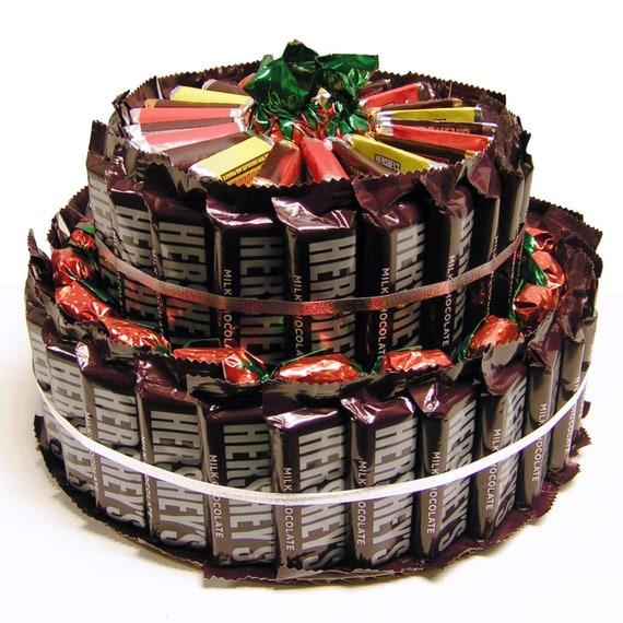 Hersheys Milk Chocolate Candy Bar Cake