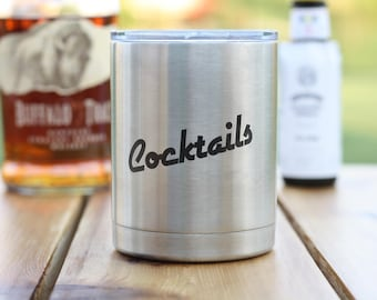 Cocktails Lowball 10oz tumbler