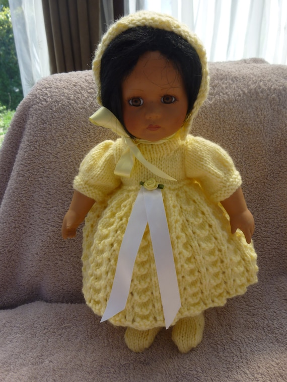 American Girl Bitty Baby White Satin Gown~Bonnet~Slippers//Shoes~Special Wedding