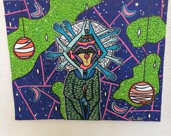 Limb Wizard Painting