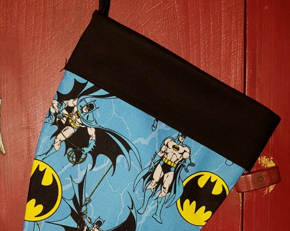 Batman Christmas Stocking