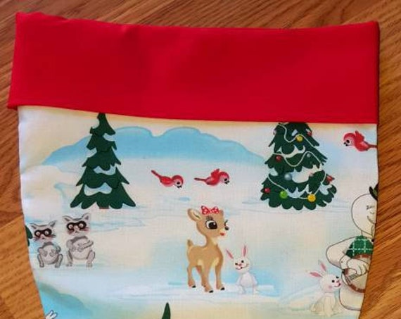 Rudolph Christmas Stocking