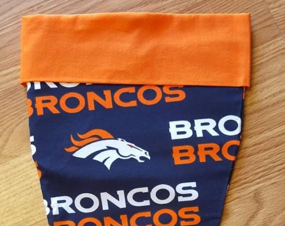 Broncos Christmas Stocking