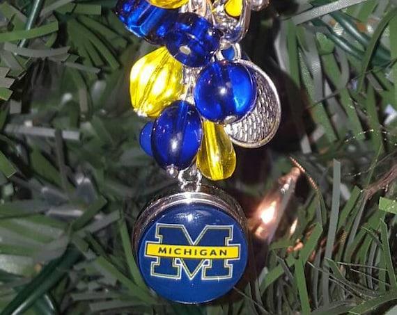 Michigan University Wolverines Ornament