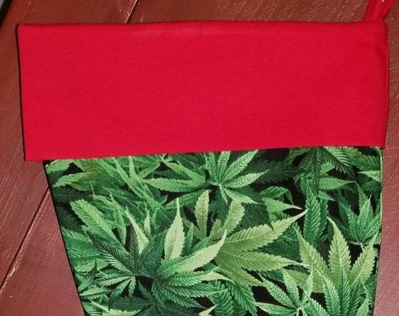 Cannabis Christmas Stocking