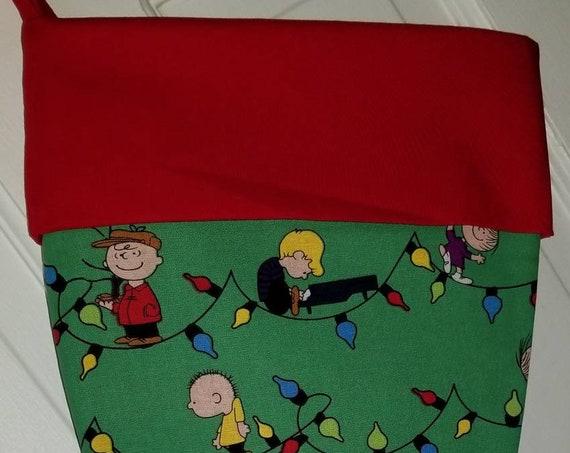 Peanuts Christmas Stocking