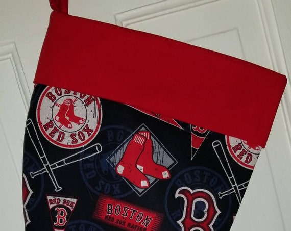 Boston Red Sox Christmas Stocking