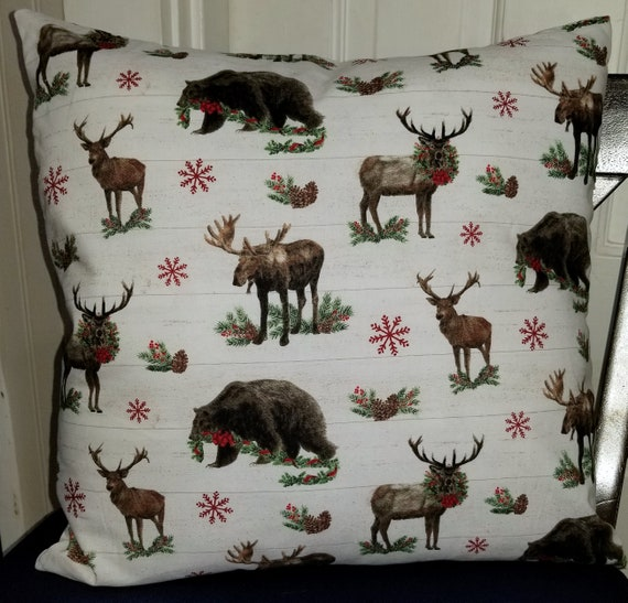 Woodland Pillow Cover