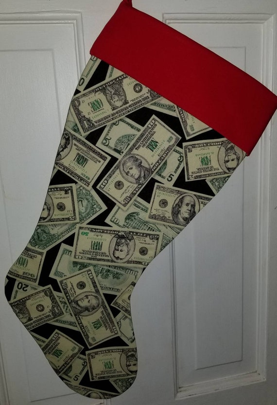 Money Christmas Stocking