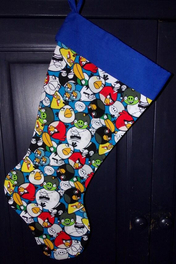 Angry Birds  Christmas Stocking