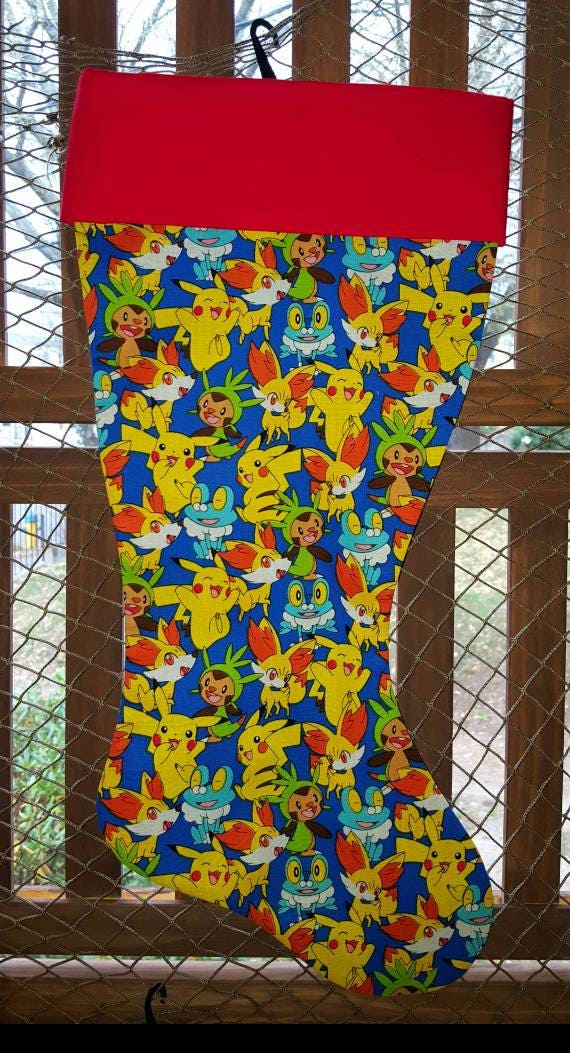 Pokemon Christmas Stocking