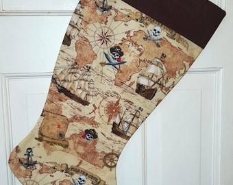 Pirate Christmas Stocking