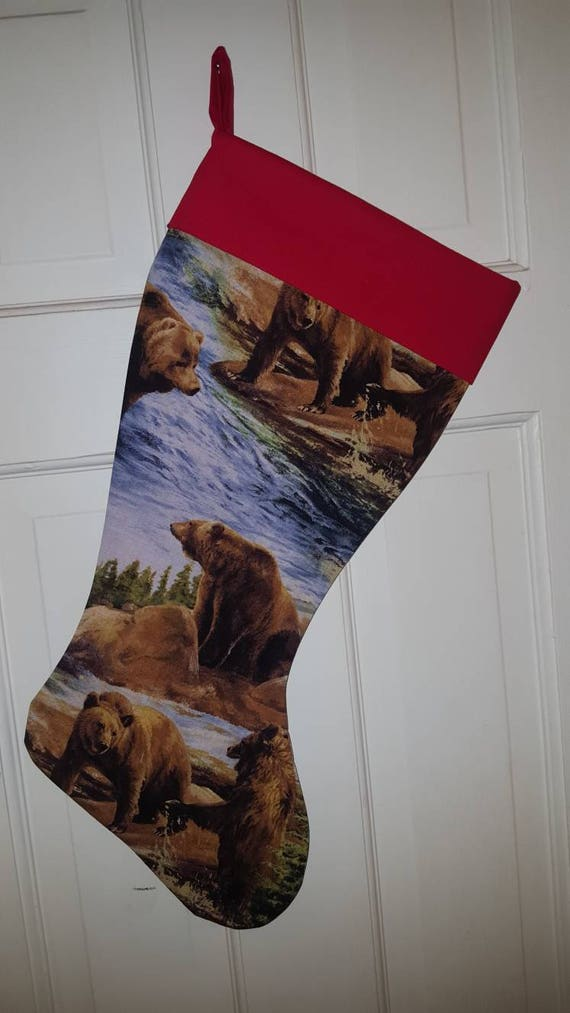 Bear Christmas Stocking