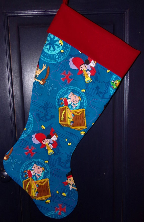 Jake & The Neverland Christmas Stocking