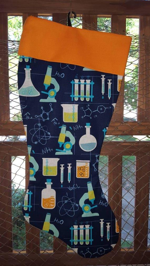 Science Christmas Stocking
