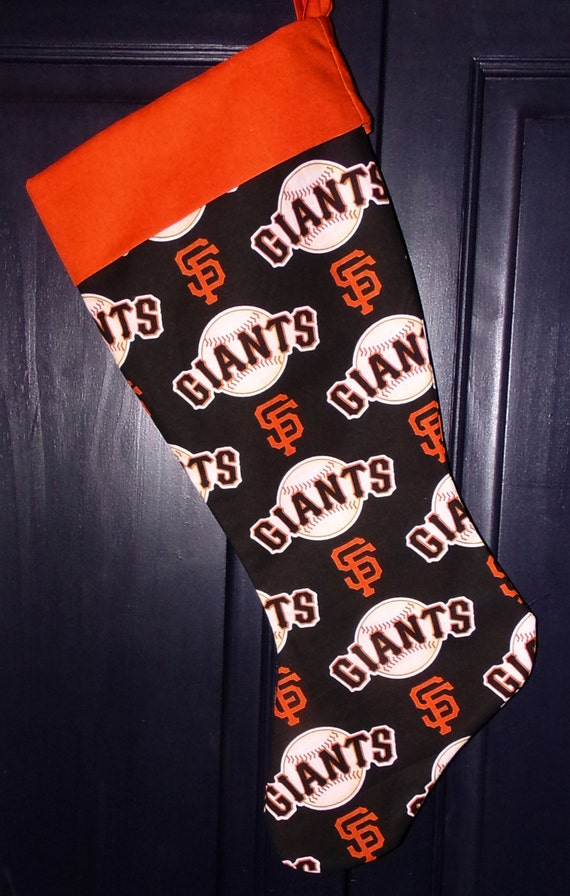 SF Giants Christmas Stocking