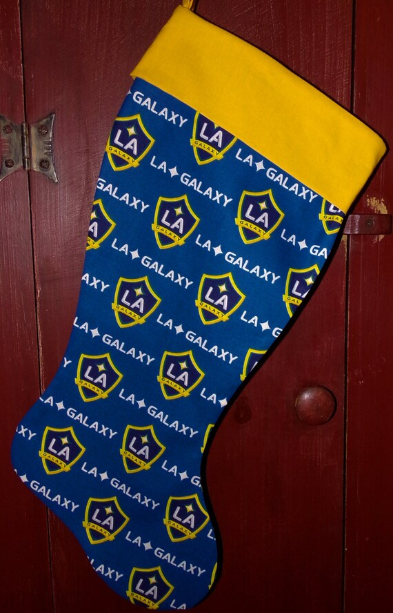 LA Galaxy Christmas Stocking