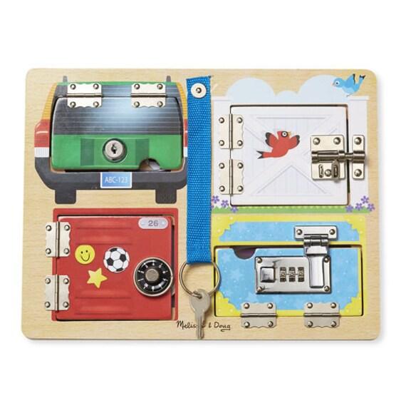 Lock & Latch Board