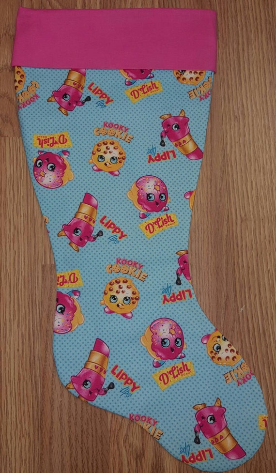 Shopkins  Christmas Stocking