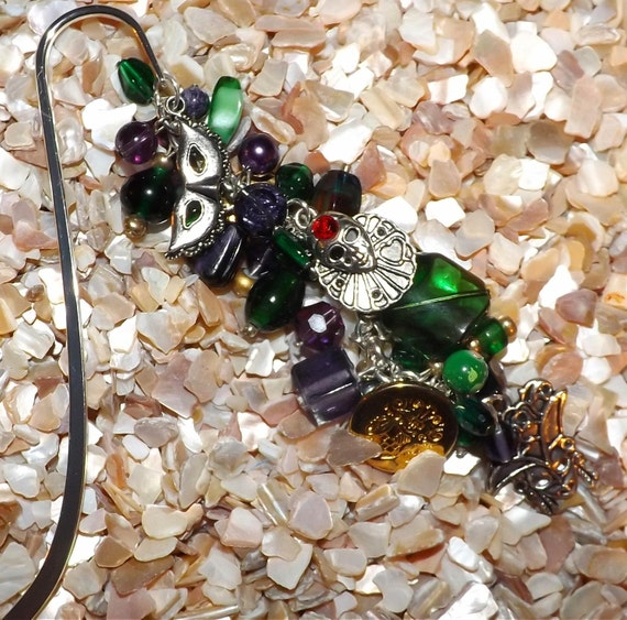 Mardi Gras  Bookmark